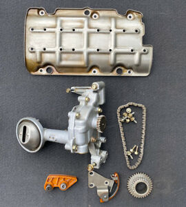 02 06 Acura Rsx Type S K20a2 Engine Oem Honda Oil Pump W Windage Tray Chain