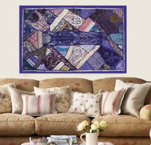 33 Off 60 Purple Wall Home Decor Handicraftd Embroidered Wall Hanging Tapestry