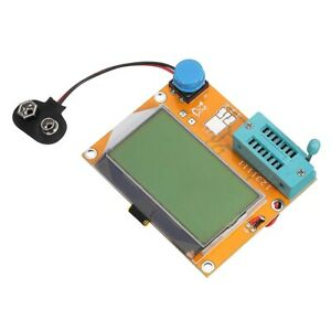 Lcr t4 12864 Lcd Graphical Transistor Tester Capacitor Detector Esr Scr Meter