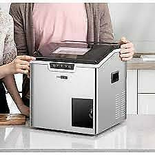 Vivohome Electric 44 Lbs day 2 in 1 Portable Square Ice Maker And Shaver