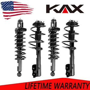 4pc Front Rear Struts Assembly For 2007 2012 Dodge Caliber Jeep Patriot Compass