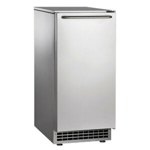 Ice o matic Gemu090 Air cooled Nugget Undercounter Ice Maker 85 Lbs day