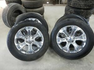 4 Ford 2021 F150 Platinum Factory 20 Wheels Amp Hankook Tires 1019a