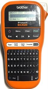 Brother P touch Edge Pt e105 Portable Handheld Industrial Label Maker