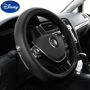 Disney Mickey Mouse Diy Car Truck Pu Leather Steering Wheel Cover 15 38cm Auto