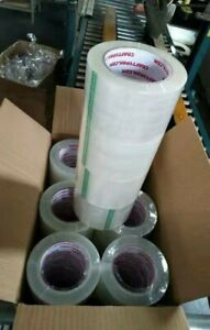 36 Rolls Clear Packaging Tape 2 X 110 Yards 2 Mil