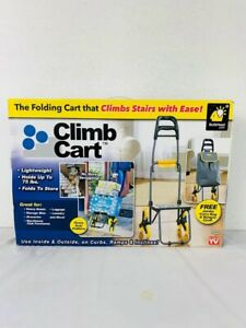 Climb Cart By Bulbhead Folding That Climbs Stairs With Ease Holds 75 Pounds New