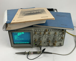 Tektronix 2230 100mhz Digital Oscilloscope Tested W Manual And Power Cable