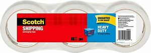 Scotch Heavy Duty Packaging Tape 1 88 X 38 2 Yd Designed For Packing New