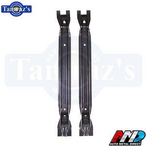 71 73 Charger Gtx Road Runner Trunk Floor Braces Set Amd New