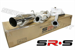 Jdm Sr s Catback Exhaust System 04 05 06 07 08 Scion Tc