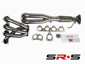 Sr S 4 2 1 Header Headers For Honda Prelude V Tec 92 93 94 95 96 H22 H22a1