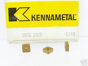 30 New Kennametal Snmg 2 523 Kc810 Carbide Insert P341s