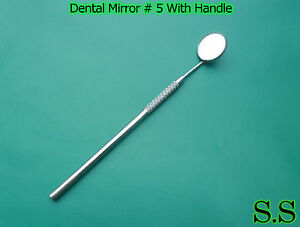 52 Dental Mirrors Stainless Steel Surgical Instruments