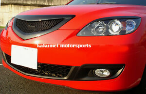 Jdm Eyelids fiberglass For Mazda 3 Mazda3 5 Door Hatchback 5dr