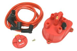 94 01 Acura Integra Rs Ls Gs Red Distributor Cap Rotor