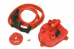 Vms 92 01 Acura Integra B18 Red Distributor Cap For External Coil Conversion