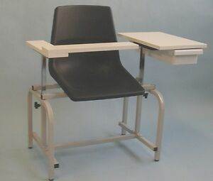 New Medical Blood Drawing Chair 2 Adjustable Armrest