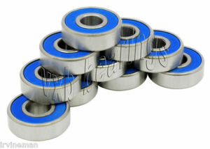 Pack Of 10 Ball Bearing R12 2rs 3 4 Stainless Steel Grade 440c Sealed Rs R12rs