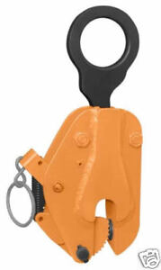 Renfroe Lifting Clamp Fr Vertical Plate Clamp 1 2 Ton 0 3 4 Opening