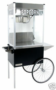 Commercial 12 Oz Popcorn Machine Theater Popper Maker Cart Paragon Pro Ps 12