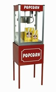 Commercial 8 Oz Popcorn Machine Theater Popper Maker Paragon Thrifty Tf 8 Stand