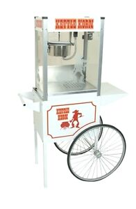 Commercial Popcorn Machine Popper Maker Cart Kettle Korn 6oz Paragon