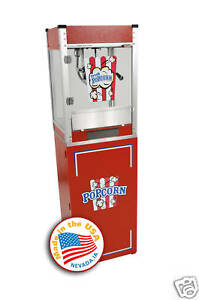 Home Theater Commercial Popcorn Machine Popper Cart Cineplex 4oz 1104800 3080800