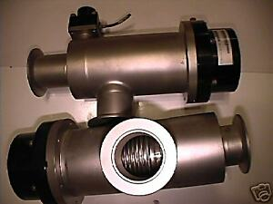 Mks Hps Nw 25 Two Stage Isolation Valve Nw50