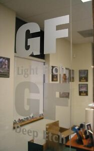 24 X 10yd Deep Glass Etch 6 Yr Sign Vinyl Film