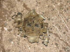 Motorcraft Carb Carburetor Ford Variable Venturi 302 5