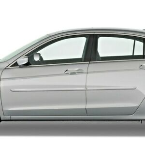 For Honda Accord 4 Door Mouldings Moldings With Chrome Insert 2008 2012