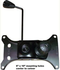 Seat Plate For Office Chairs Universal 6 X 10 Holes sp 610