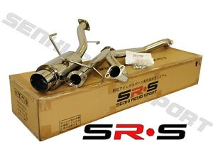 Jdm Srs Catback Exhaust For 02 06 Nissan Sentra Spec V 03