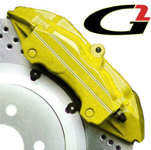 Yellow G2 Brake Caliper Paint Epoxy Style Kit Free Ship