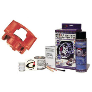 Custom Mustang Red Fire G2 Brake Caliper Paint Kit