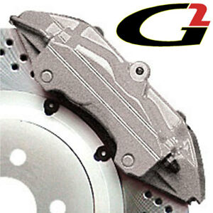 Silver G2 Brake Caliper Paint Epoxy Style Kit Free Ship