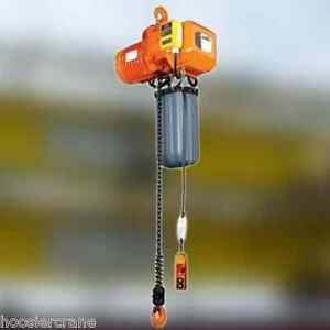 Accolift 1 Ton Electric Chain Hoist 20 Foot Of Lift Acco Free Freight