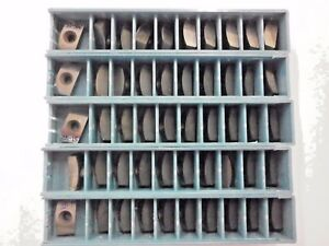 50 Pcs Ingersoll Bde 324 Ro2 205 Carbide Milling Inserts I993