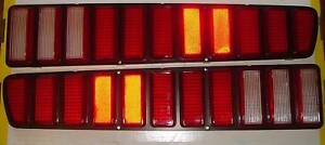 Mopar 73 74 Charger Taillights 1973 1974 New