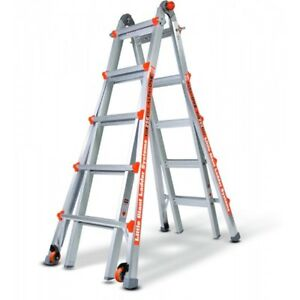 Demo 22 Little Giant Ladder 250 Lb With Work Platform