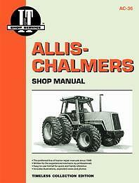 Allis chalmers 8010 8030 8050 8070 Shop Service Manual