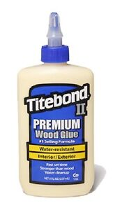 24 Titebond Ii 5003 8 Oz Premium Weatherproof Wood Glue