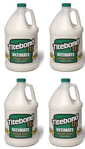 4 Jugs Franklin Titebond Iii Gallon Ultimate Wood Glue 1416