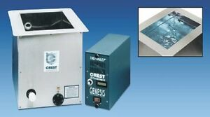 Crest Ultrasonic 22 Gallon Industrial Grade Cleaner