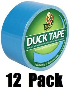 12 Ea 1311000 1 88 X 60 Electric Blue Duck Duct Tape