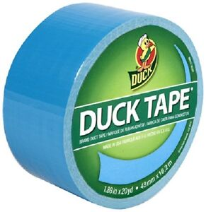 6 Ea 1311000 1 88 X 60 Electric Blue Duck Duct Tape