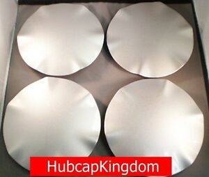 New 1995 1999 Buick Riviera 16 Silver Wheel Center Hub Cap Set Of 4
