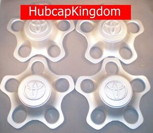 2001 2007 Toyota Highlander Wheel Hub Center Cap Set