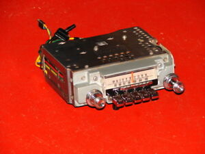 66 Mercury Am Fm Radio Super Clean Plays Well